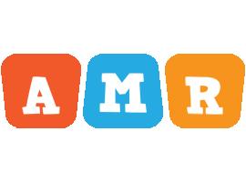 Amr comics logo