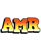 Amr sunset logo