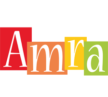 Amra colors logo
