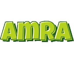 Amra summer logo