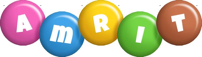 Amrit candy logo