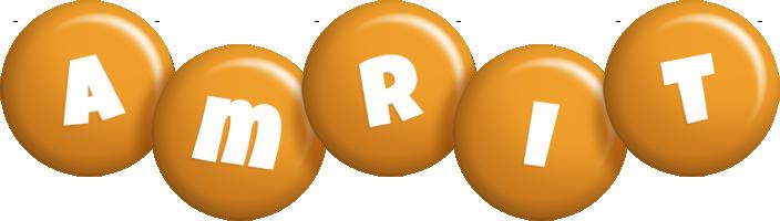 Amrit candy-orange logo