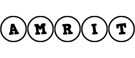 Amrit handy logo
