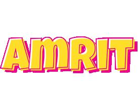 Amrit kaboom logo