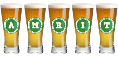 Amrit lager logo