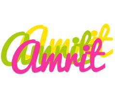 Amrit sweets logo