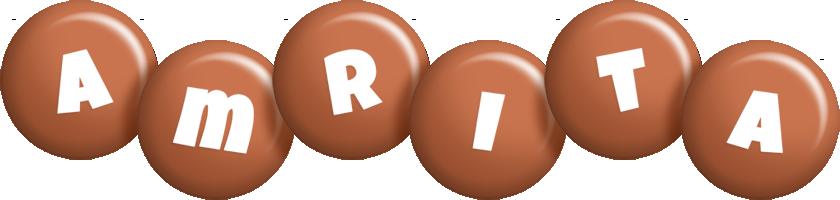 Amrita candy-brown logo