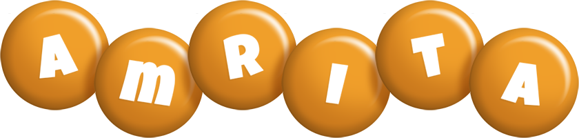 Amrita candy-orange logo