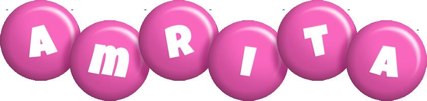 Amrita candy-pink logo