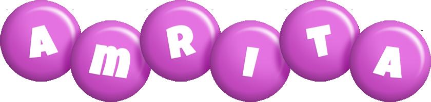 Amrita candy-purple logo