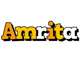 Amrita cartoon logo