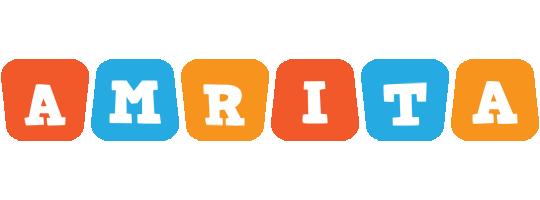 Amrita comics logo