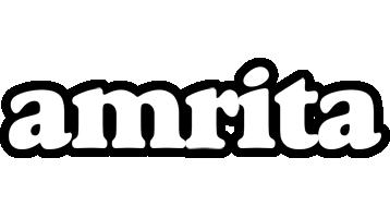 Amrita panda logo