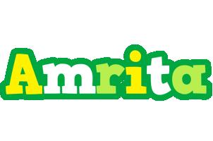 Amrita soccer logo