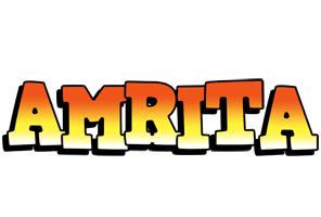 Amrita sunset logo