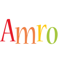 Amro birthday logo