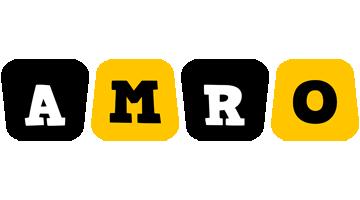Amro boots logo