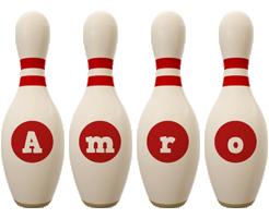 Amro bowling-pin logo
