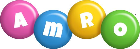 Amro candy logo
