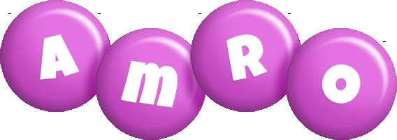 Amro candy-purple logo