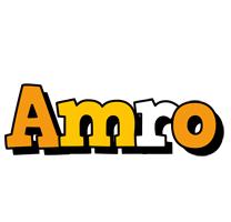 Amro cartoon logo