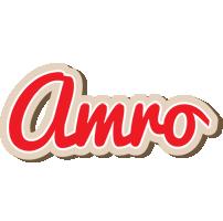 Amro chocolate logo