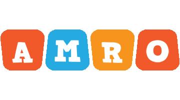 Amro comics logo