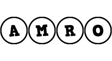 Amro handy logo