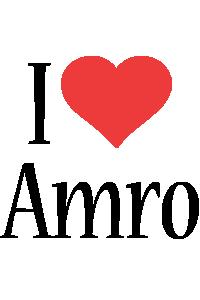 Amro i-love logo