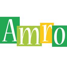 Amro lemonade logo