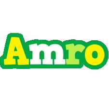 Amro soccer logo