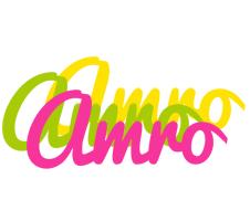 Amro sweets logo