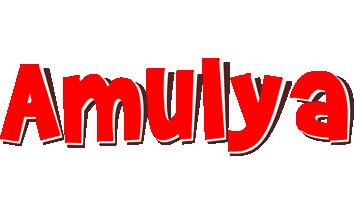 Amulya basket logo
