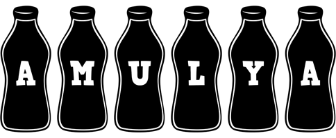Amulya bottle logo
