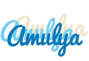 Amulya breeze logo