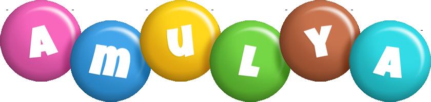 Amulya candy logo