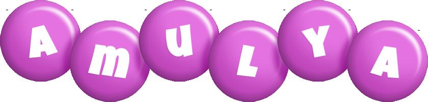 Amulya candy-purple logo