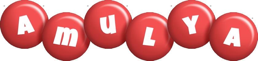 Amulya candy-red logo