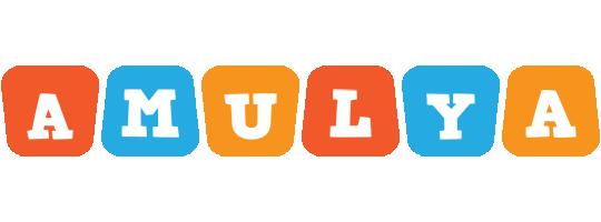 Amulya comics logo