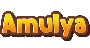 Amulya cookies logo