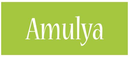 Amulya family logo