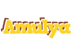 Amulya hotcup logo