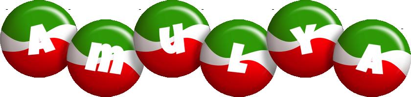 Amulya italy logo