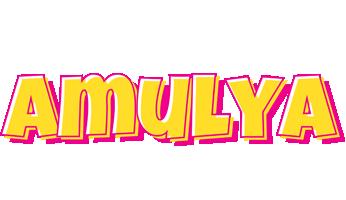 Amulya kaboom logo