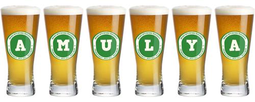 Amulya lager logo