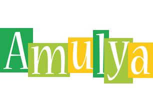 Amulya lemonade logo