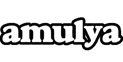 Amulya panda logo