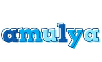 Amulya sailor logo