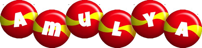 Amulya spain logo