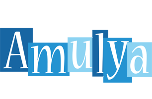 Amulya winter logo